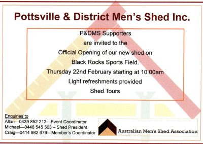 Official Opening PADMS February 2018